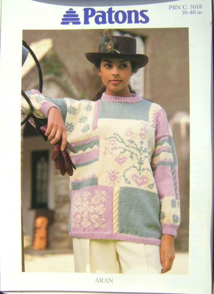 Patons Knitting Pattern 5018